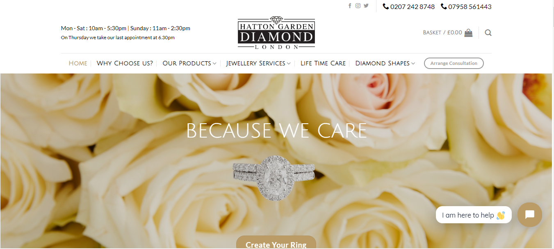 Hatton Garden- Best Diamond jewellers in Uk