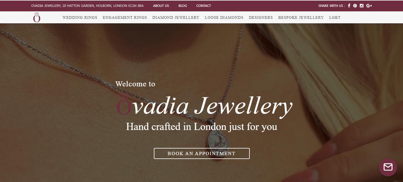 Ovida Jewellery #Top 10 Bespoke shop
