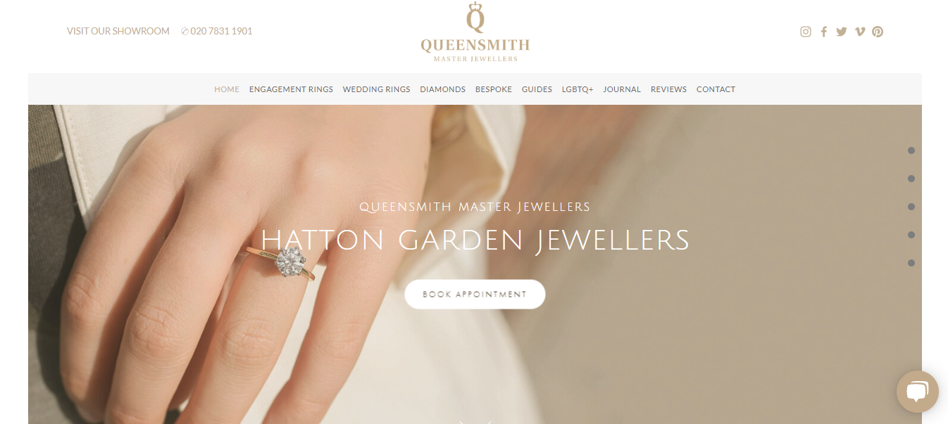 Buy Pair rings at Queensmith Master Jewellers