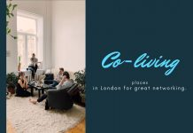 Co-living places in London