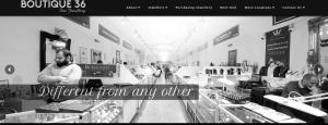 boutique 36 jewellery shop in Hatton Garden