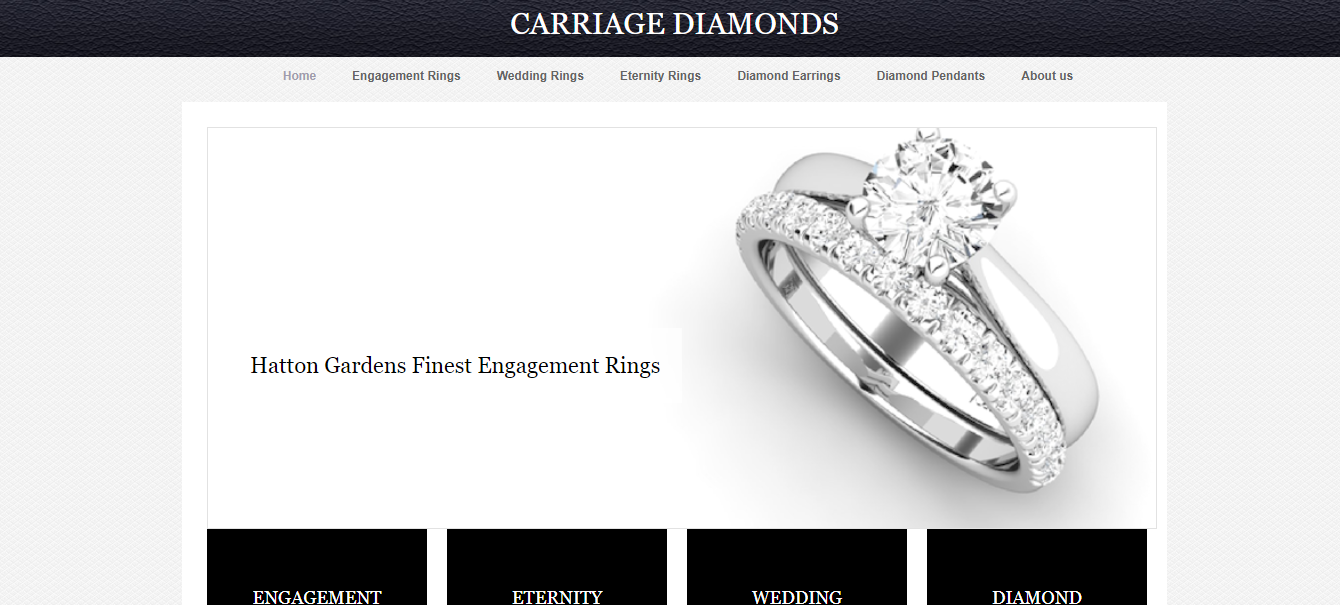 carriage diamonds in UK
