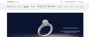 savy +sand jewellery for diamonds