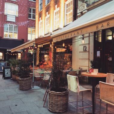 Vegan restaurants London - Tibits