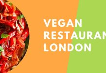 Vegan restaurants London
