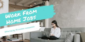 work from home jobs london