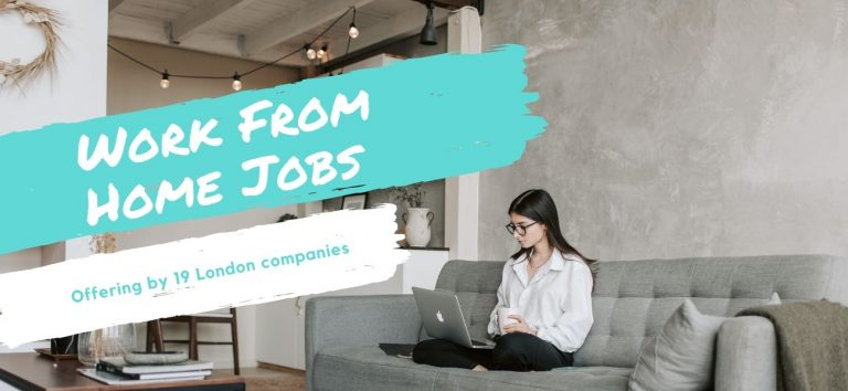 Top 19 London Businesses Offering Work From Home Jobs