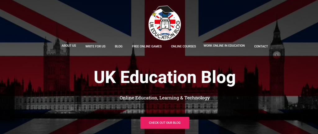 UK-education-blog-uses-hestia-wordpress-theme
