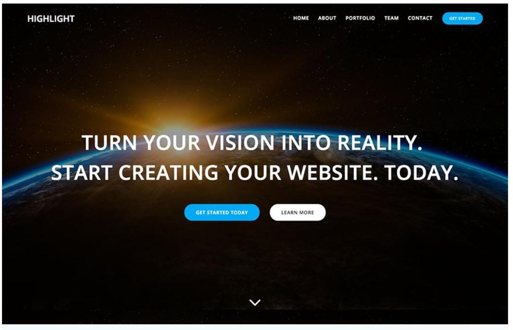 Highlight-wordpress-theme-for-bloggers-and-digital-entrepreneurs