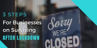 3 Steps for Survive in Businesses after Lockdown