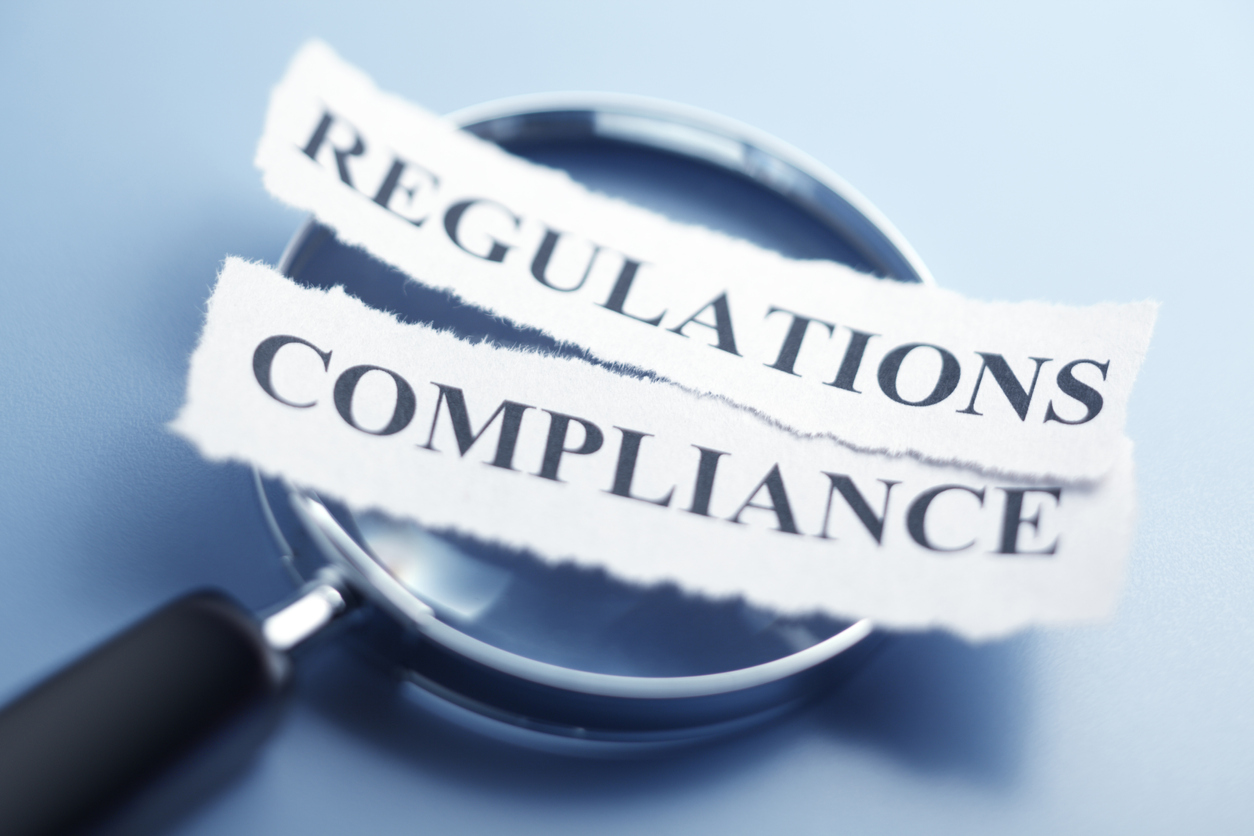 Compliance And Regualtion Concept