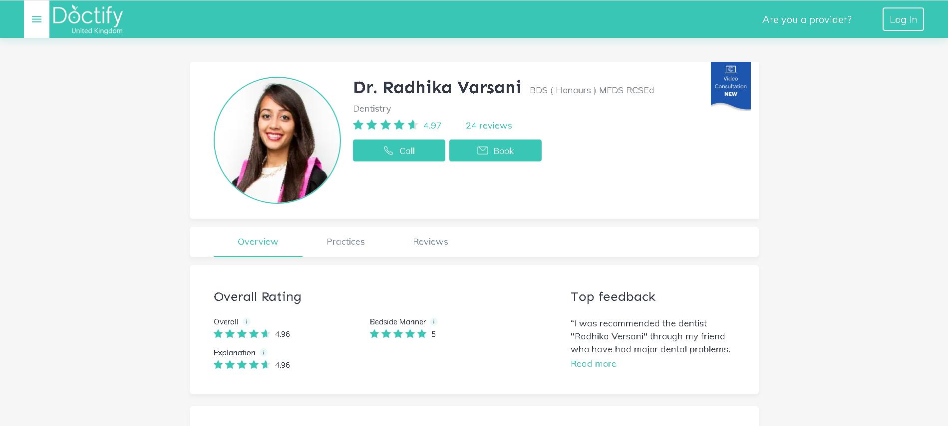 Dr. Radhika Varsani