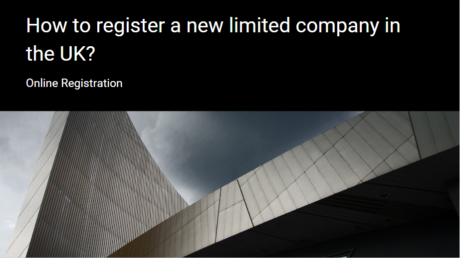 How to register a new limited company in the UK