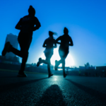 A 5km run in a London park