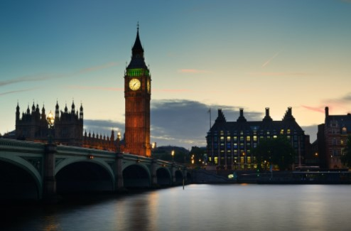 business leaving london