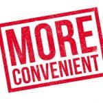 It's Convenient